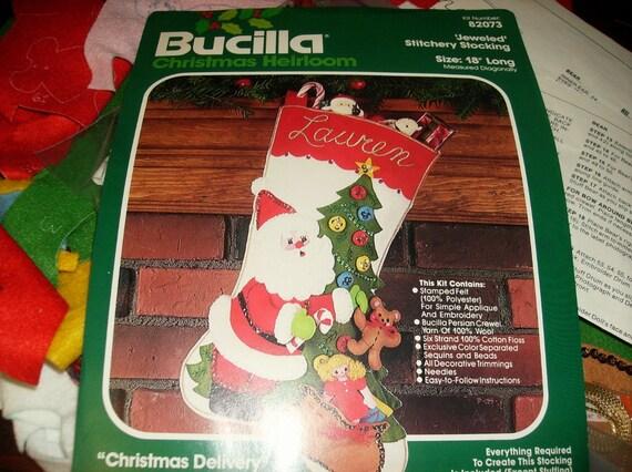 Bucilla Felt Stocking Kit  Christmas Delivery Bucilla Felt Stocking Kit Has Been Started