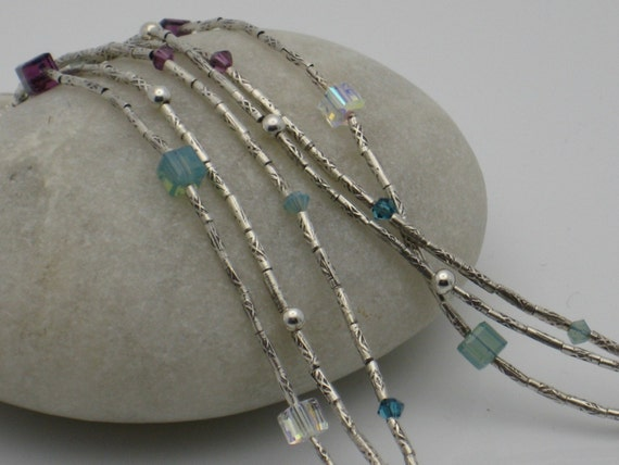 Crystal Cascade Necklace