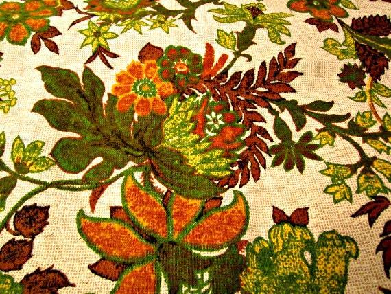 "Upholstery Barkcloth Nubbly Fabric. Cotton Fabric. 52"" x 52"""