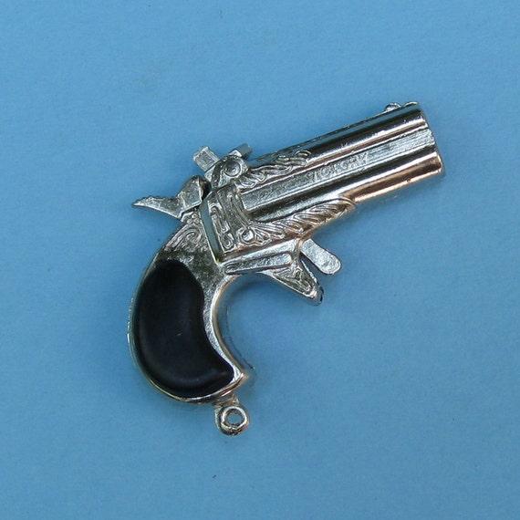 Metal Gun Gun Charm Gun Pendant Derringer Gun Charm DIY Jewelry Charm