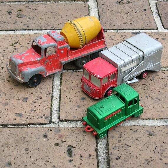 Vintage Toy Trucks Metal Toy Trucks Train Lesney Tootsietoy