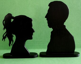Custom Wood Silhouette from your Photo