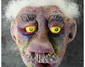 Zombie Magnet, Zombie Head Sculpture, Albert the Zombie