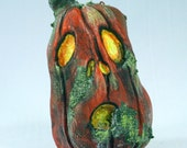 Jack O'Lantern Ornament, Moldy Milly the jack-o-lantern decoration