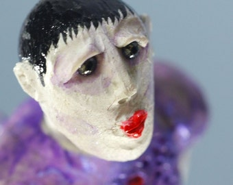 Art Doll Ornament, Belladonna the mysterious woman from another world