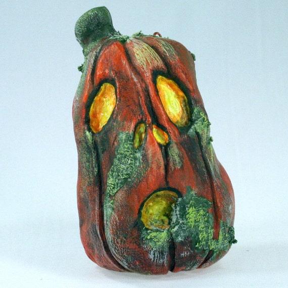 Jack O'Lantern Ornament, Moldy Milly the jack-o-lantern decoration