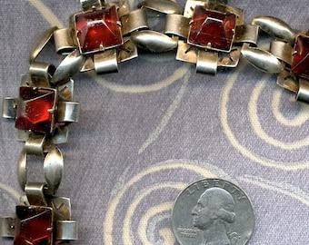 Vintage Art Deco Sterling Bracelet