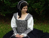 Renaissance or Medieval Dress for Costume or Faire - Ready to Ship