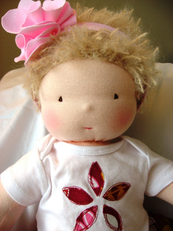 20-inch weighted Waldorf baby doll