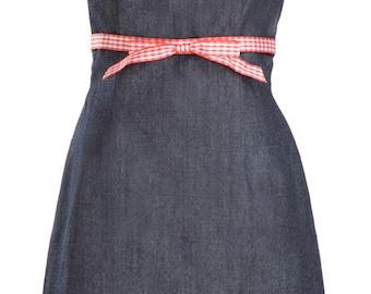 Denim Dress- Spaghetti strap