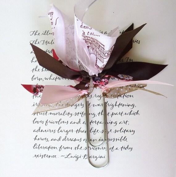 Ribbon Bookmark - La Turnballe