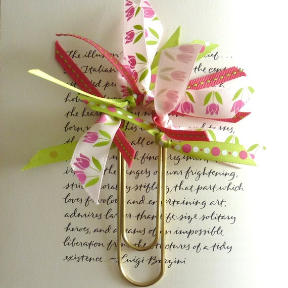 Ribbon Bookmark - Holland - Ready To Ship