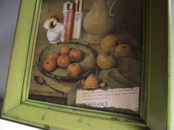 Altered Thrift Store Art - Age Defying