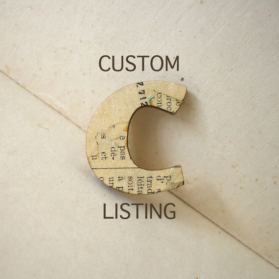 Custom listing for Kirsty