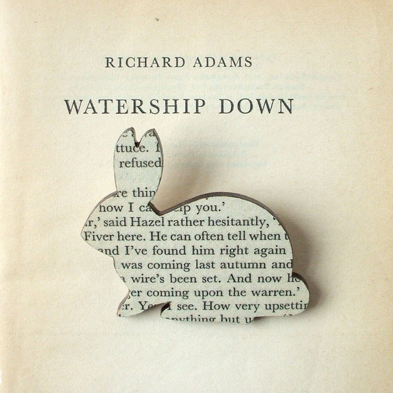 Watership Down Rabbit brooch