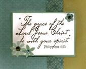 ETSYFREESHIPPING - Scripture Bible Verse Greeting Card Bundle - CYBERMONDAY SALE