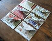 set of six Australia mini notecards