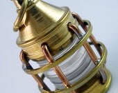 Brass Marine Lantern Industrial Light Charm