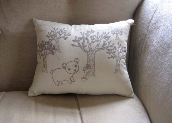 Bear Forest Pillow