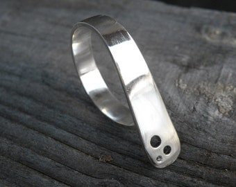 SALE-Next to you Ring-sterling silver