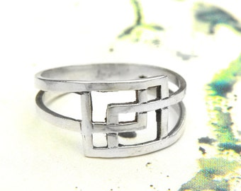 Intricate Ring-sterling silver