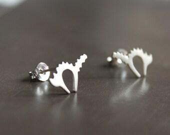 Belek's cat Earrings-sterling silver