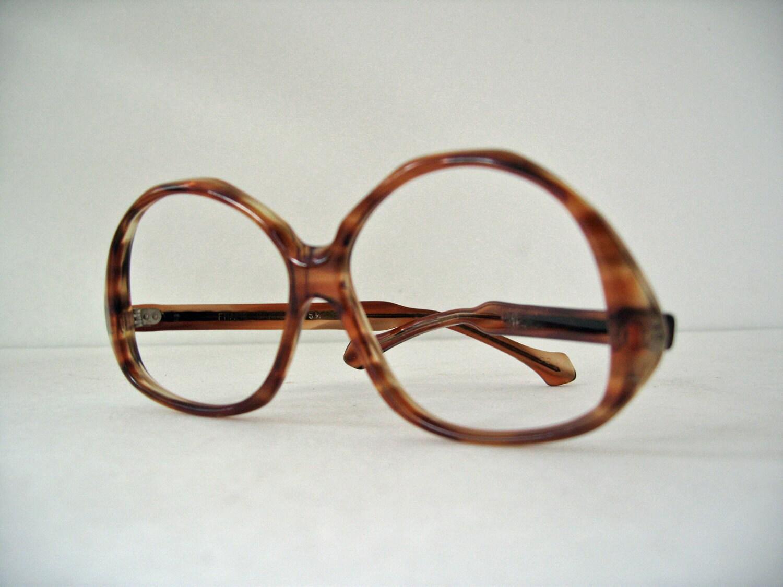 items similar to vintage 1970s glasses frames tortoise