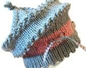 Instant PDF - Carousel Beret Knitting Pattern