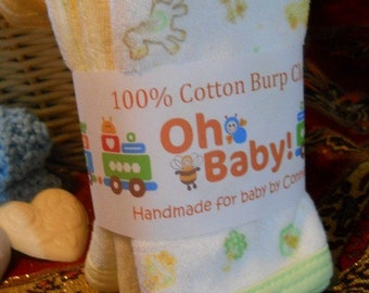 PDF - Boy Onesie/Burp Cloth Tag, Label