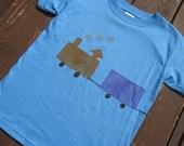 Train - Short or Long Sleeved Tshirt