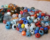 Destash -  Vibrant Glass Bead Mix