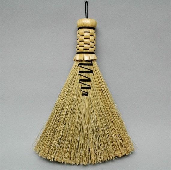 Handmade Appalachian Style Hawk Tail Whisk Broom Free