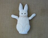 Vintage Stuffed Plush Animal Toy  Bunny Rabbit Spring Easter Decor