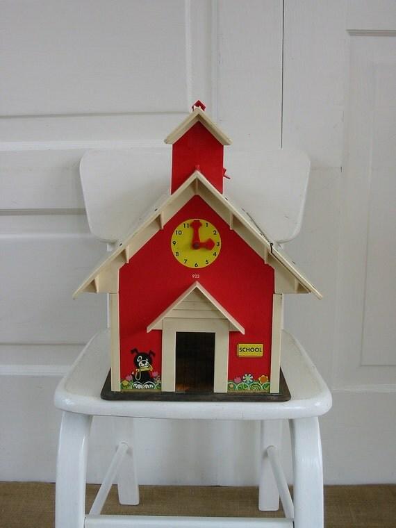 Fisher Price School Toy Children Retro