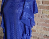 Vintage 80's Ruffled Dress