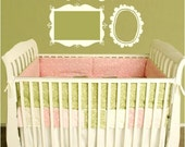 Child Frame Collection Shabby Chic Infant Vinyl Graphic for Photos