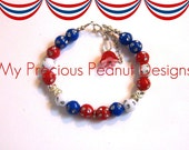 BRaCeLeT BoNaNZa  SALE   Patriotic ReD WHiTe aND BLue