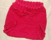 Wool diaper cover for night time (disposable) diaper RESERVED FOR LINDSEY