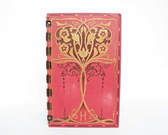 Vintage French Wedding Guestbook / Journal