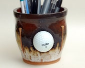 Golf Ball Pencil Holder / Coin Pot / Tooth Brush Holder