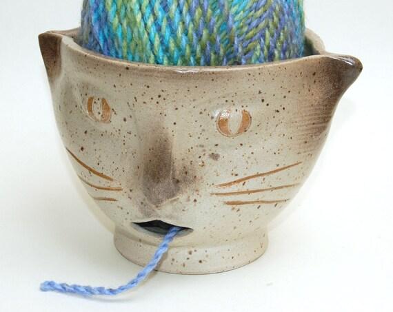 Siamese Cat Yarn Bowl
