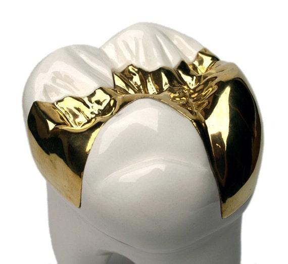 Porcelain Tooth Jar