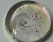 Special Order - Scraptis..... Persian Cat Paperweight - Custom Order