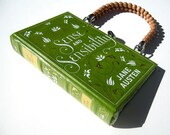 Book Purse Handbag- Sense and Sensibility by Jane Austen