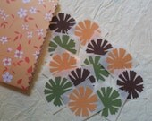 Handmade Sticker Pack, Autumn Flowers