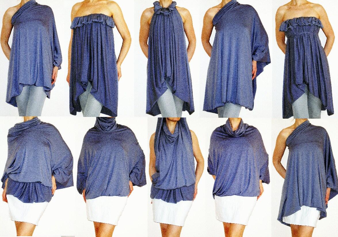 multiway wrap dress instructions