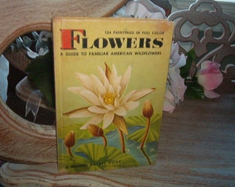1950 Hardback book 134 Paintings in Full Color Flowers A Guide to Familiar American Wildflowers