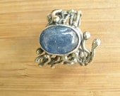 Kyanite Rainy Day Adjustable Ring.