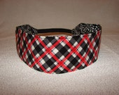 Dandelion Plaid Reversible Headband
