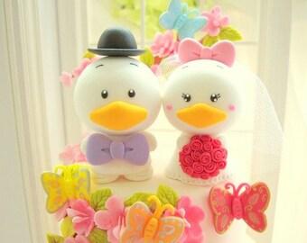 Custom Order Deposit for the lovely ducks Wedding Cake Topper